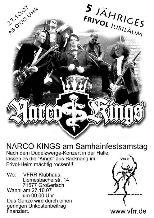 NARCO KINGS KONZERT am Samhainfestsamstag