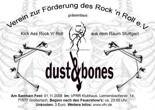 Dust & Bones am Samhaimfest