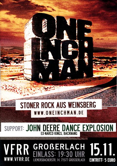 OneInchMan und John Deere Dance Explosion