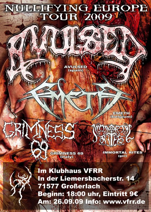 Nullifying Europe Tour