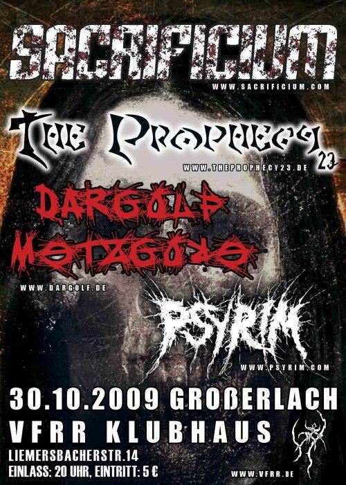 Deathmetal Konzertabend