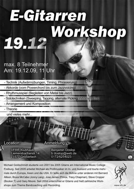 E-Gitarren Workshop