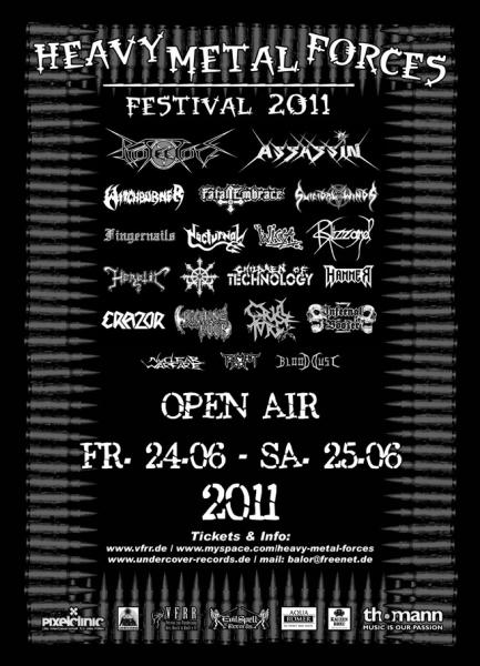 Heavy Metal Forces Festival