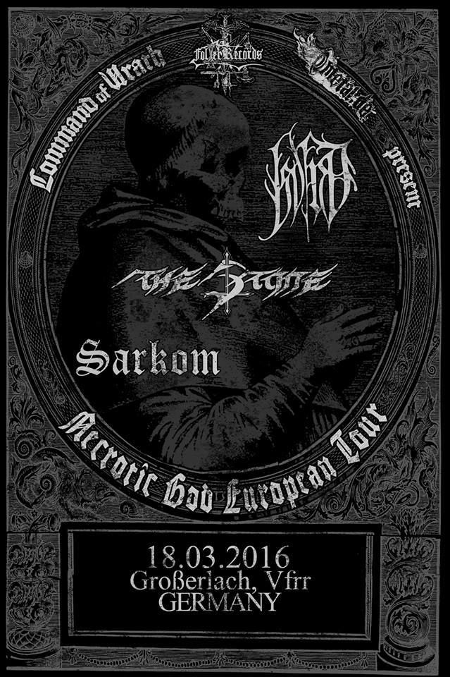 Necrotic God European Tour